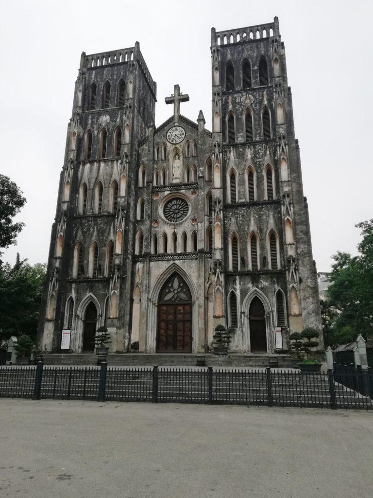 Severní Vietnam - Hanoj - katedrála