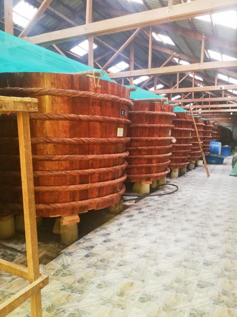 Továrna na rybí omáčku Phu Quoc