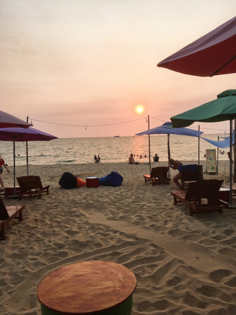 Phu Quoc - západ slunce a pohoda na pláži