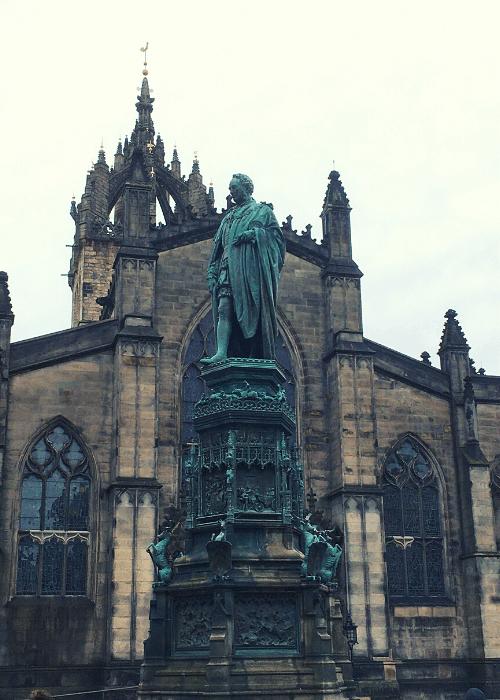 Co vidět v Edinburghu - Katedrála St. Giles