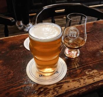 The Bow bar - pivo a whiskey