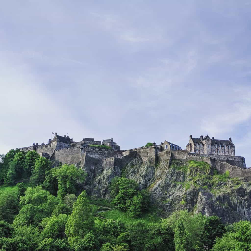 Co vidět v Edinburghu - Edinburský hrad