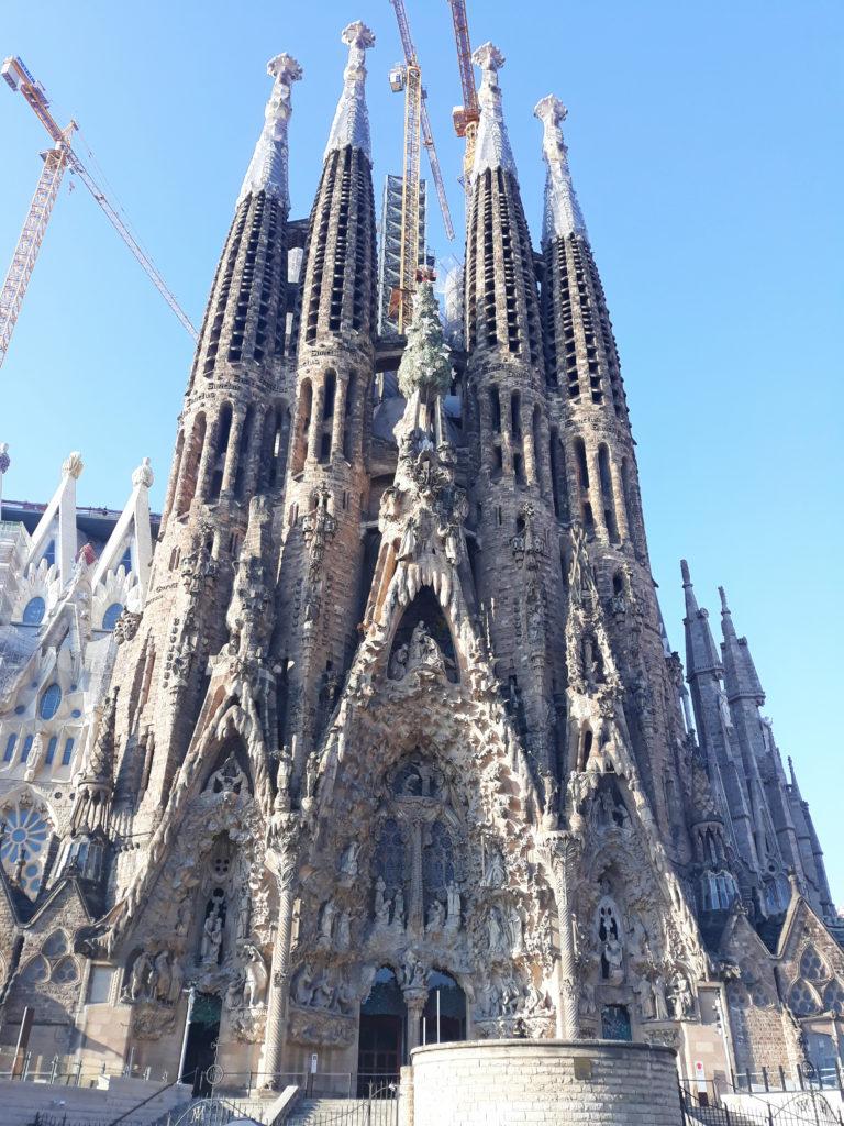 Ci vidět v Barceloně - Sagrada Familia