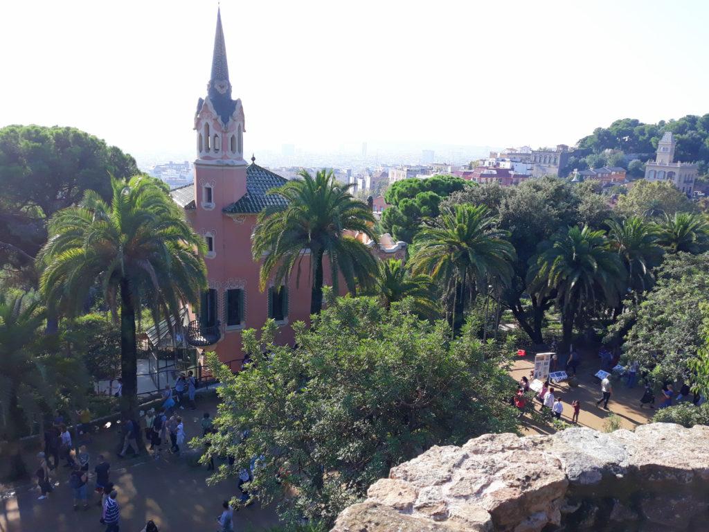 Ci vidět v Barceloně - Park Güell