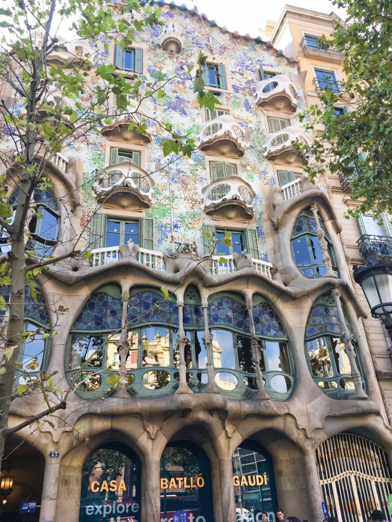 Ci vidět v Barceloně - Casa Milà