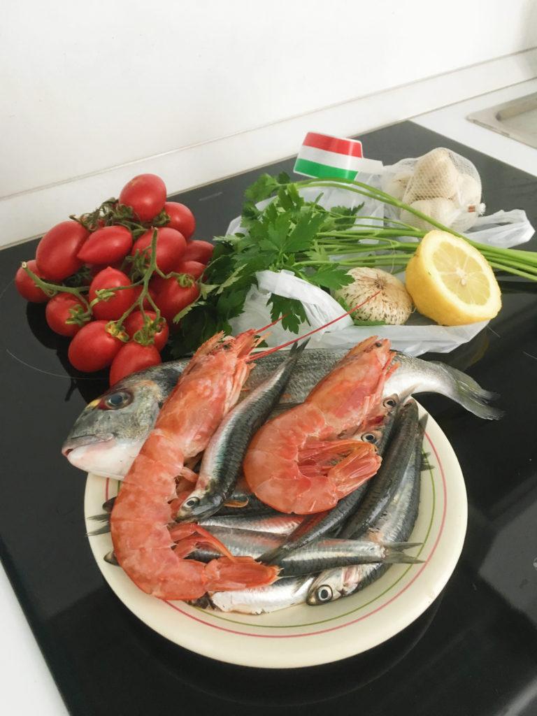 Bari - italská večeře