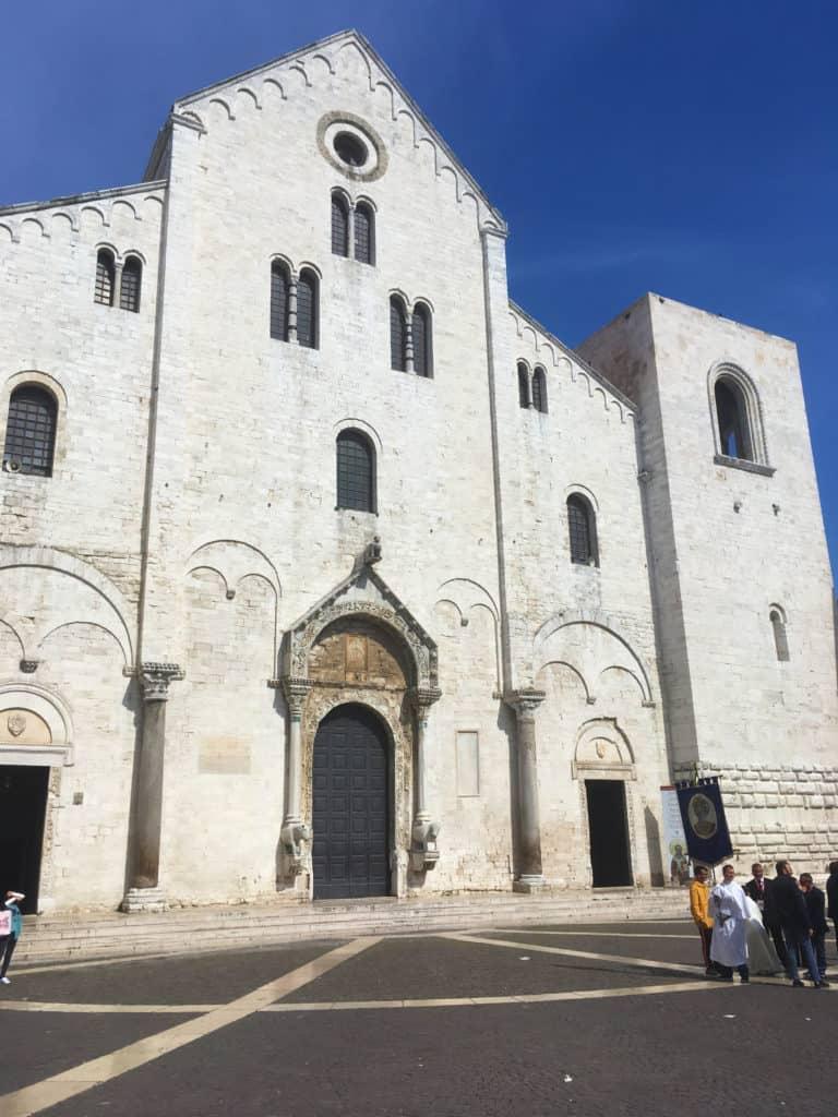 Bari a okolí - Bazilika sv. Mikuláše
