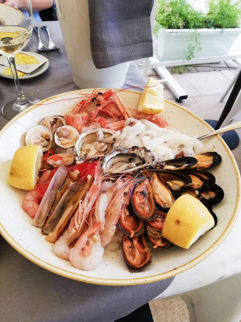 Bari - plody moře