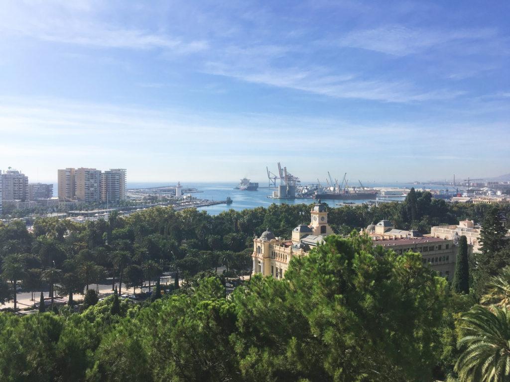 Co vidět v Malaze - Výhled z pevnosti Alcazaba