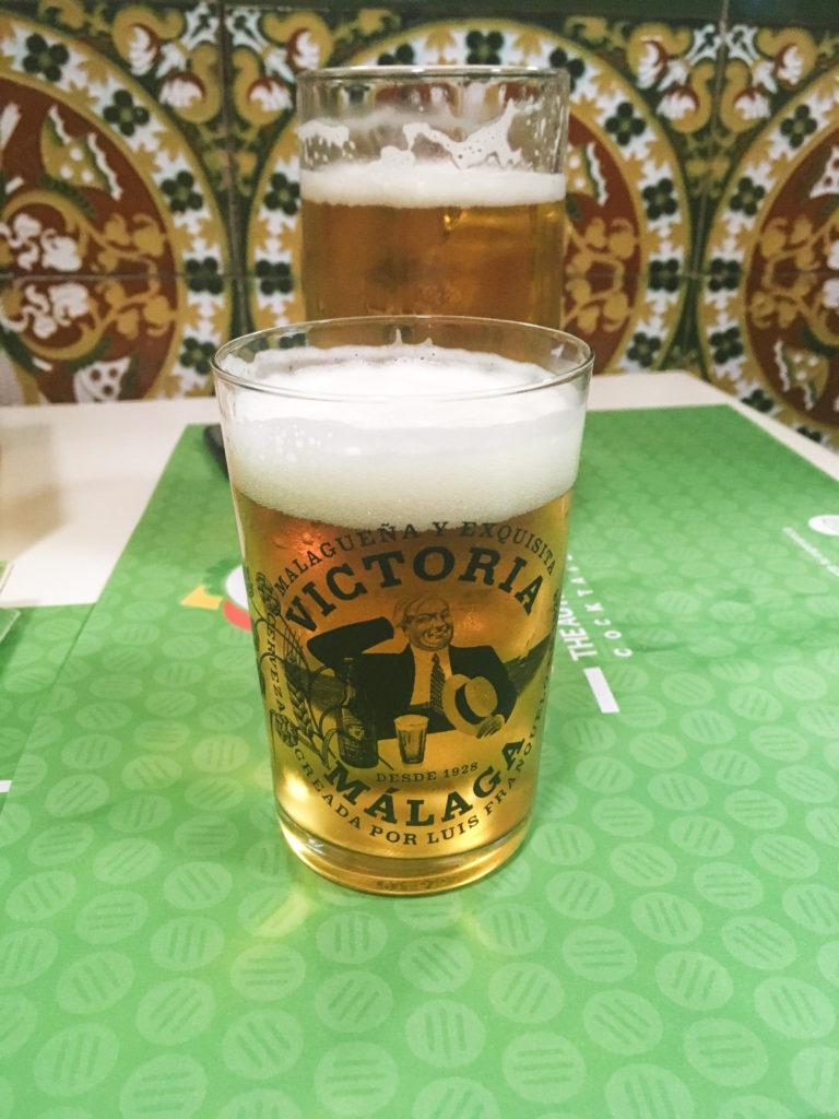 Cerveza Victoria Malaga