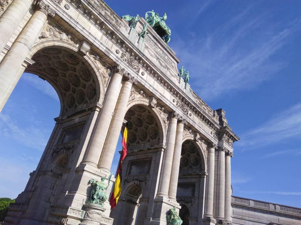 Co vidět v Bruselu - Palais du Cinquantenaire