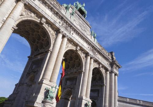 Belgie - Brusel - Parc du Cinquantenaire