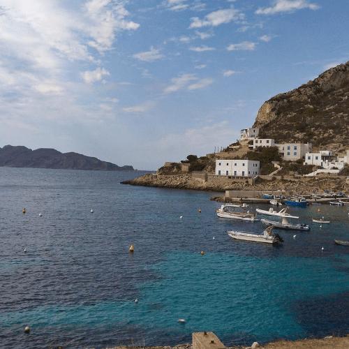 Sicílie - Trapani - výhled na moře