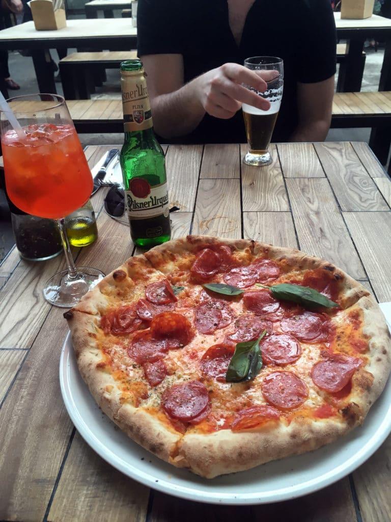 Kam na pizzu v Praze - Pizza Wine Food Market