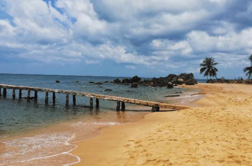 Pláž v Phu Quocu