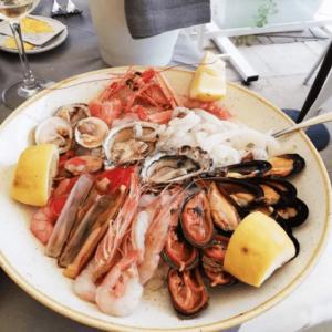 Itálie - Bari - mořské plody