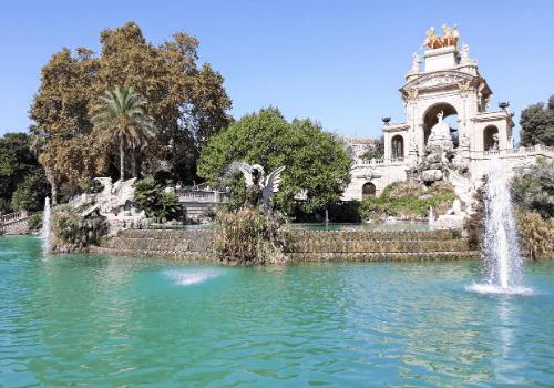 Španělsko - Park v Barceloně