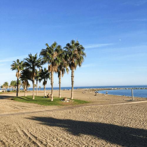 Španělsko - Malaga - pláže